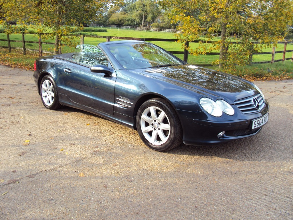 used Mercedes SL350  in suffolk