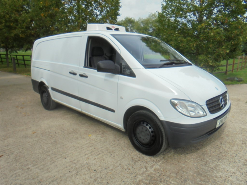 used Mercedes Vito 109 CDI LONG P/V in suffolk