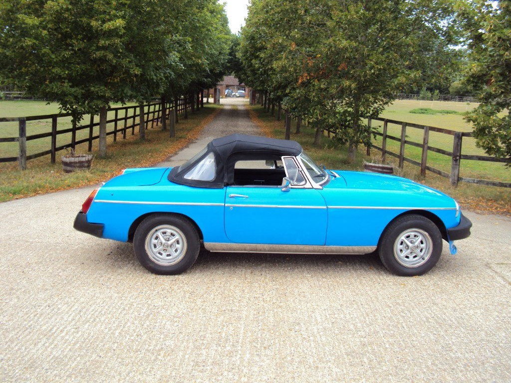used MG Roadster B in suffolk