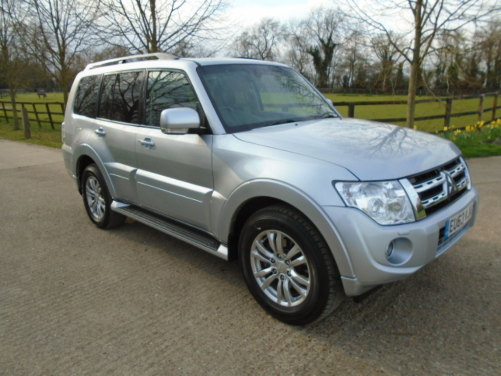 used Mitsubishi Shogun DI-D SG3 in suffolk