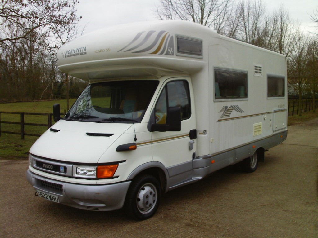 used Mobilvetta K-Yacht ICARO S9 in suffolk