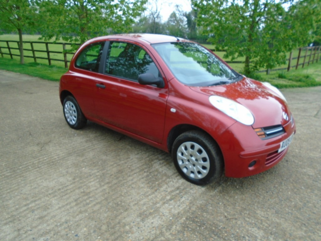 used Nissan Micra VISIA in suffolk