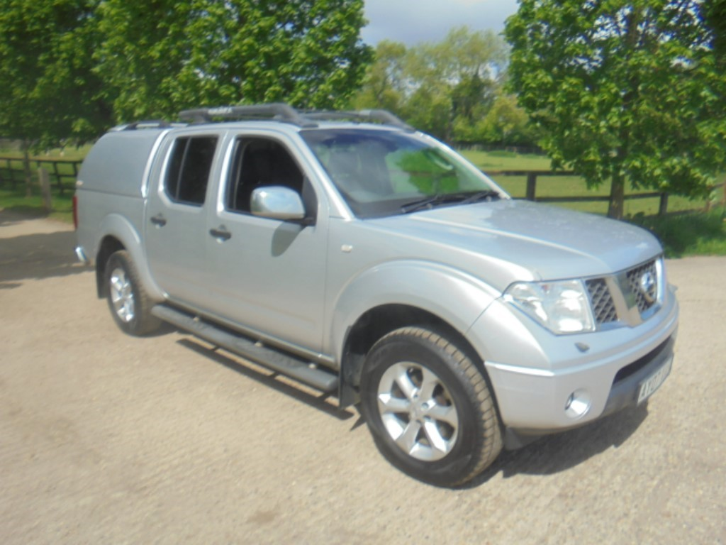 used Nissan Navara DCI OUTLAW 4X4 SHR SWB DCB E4 in suffolk