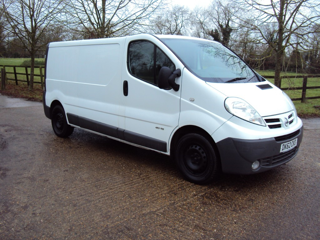 used Nissan Primastar  in suffolk