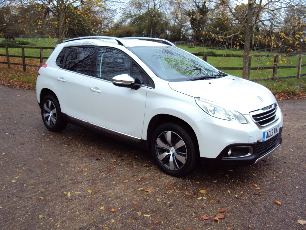 used Peugeot 2008 E-HDI ALLURE in suffolk