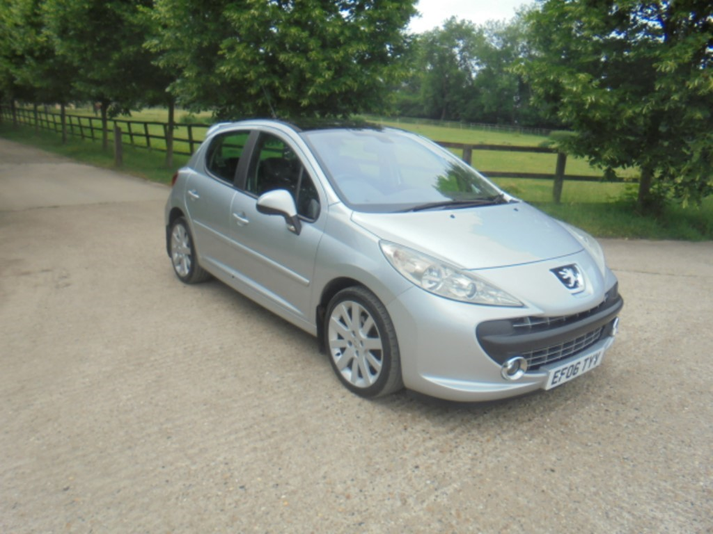 used Peugeot 207 GT (110BHP) in suffolk