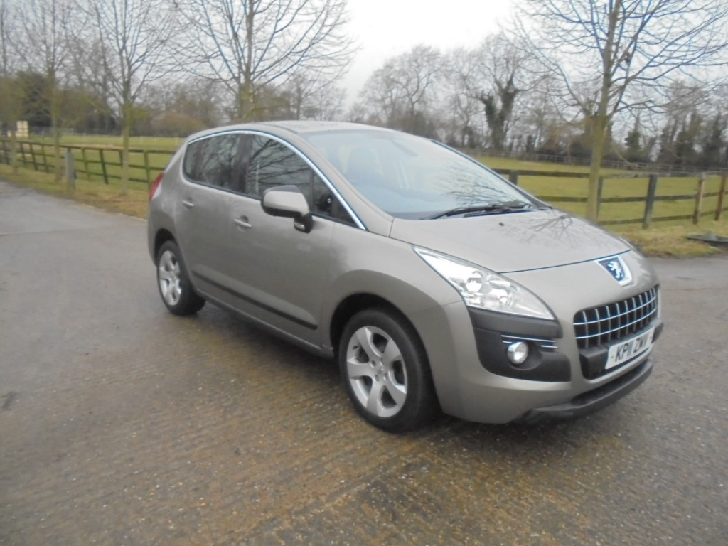used Peugeot 3008 HDI SPORT in suffolk