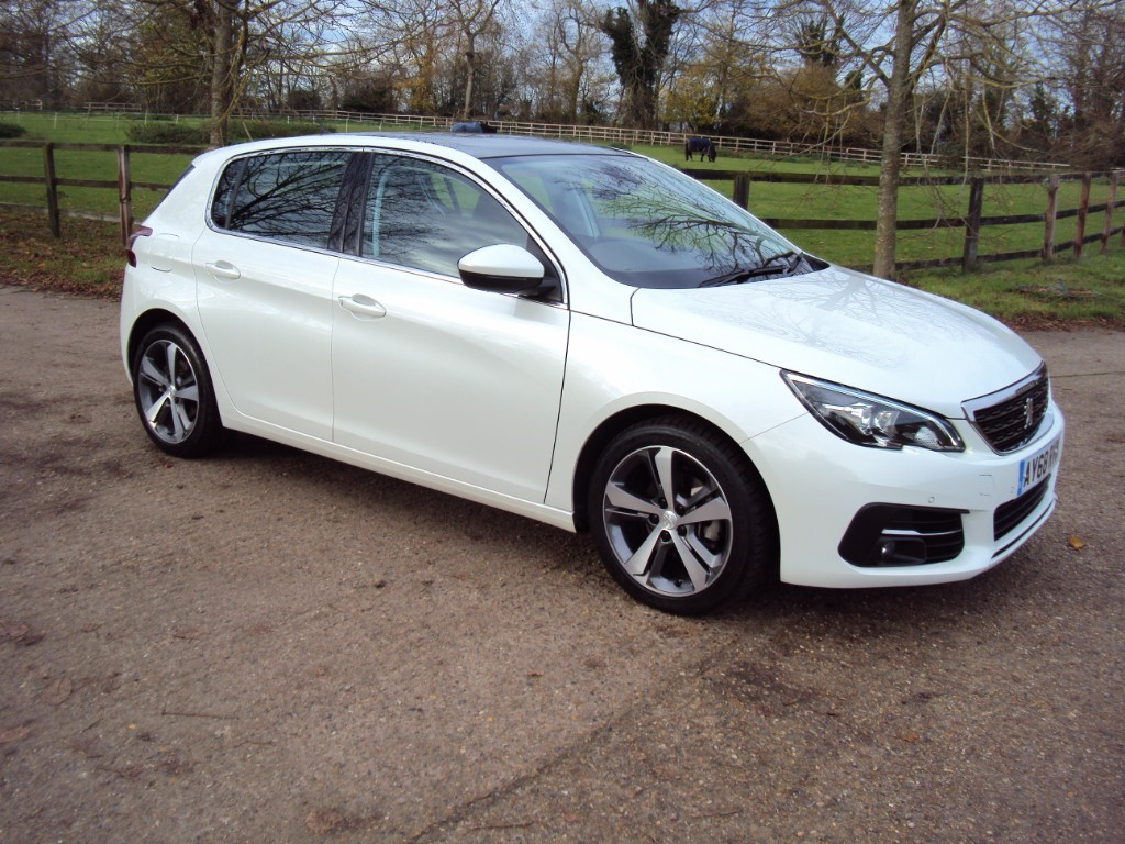 used Peugeot 308 S/S ALLURE in suffolk