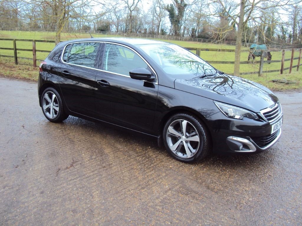 used Peugeot 308 BLUE HDI S/S ALLURE in suffolk