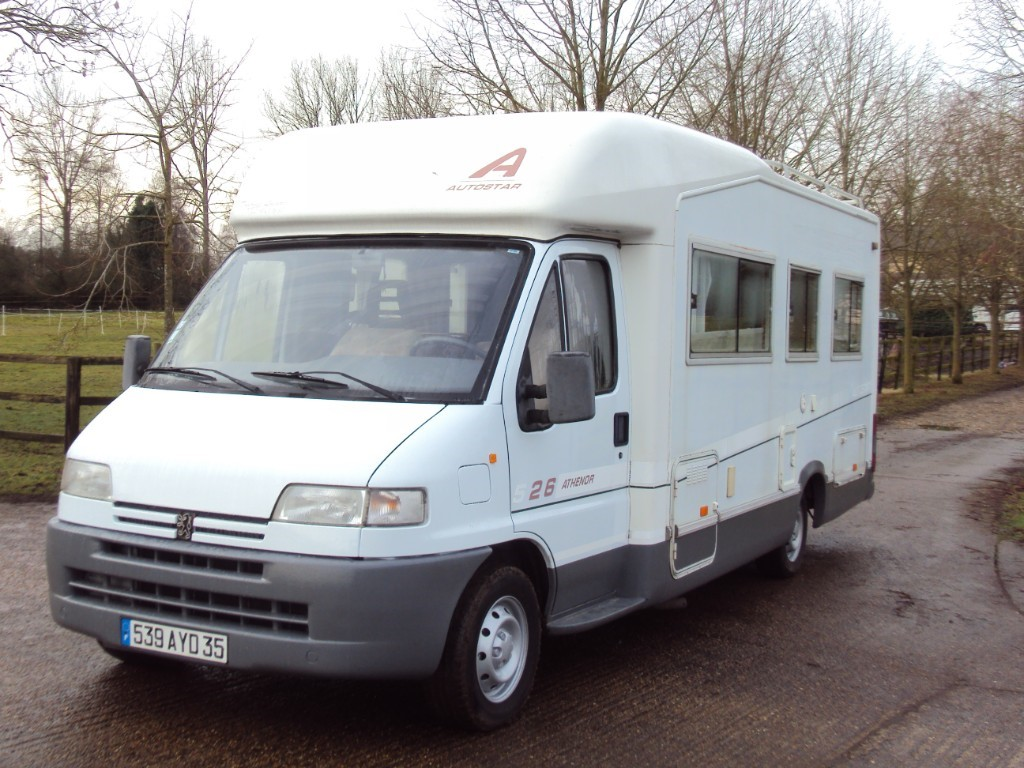 used Peugeot Boxer AUTOSTAR LEFT HAND DRIVE in suffolk