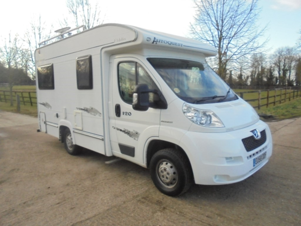 used Peugeot Boxer ELDDIS AUTOQUEST in suffolk