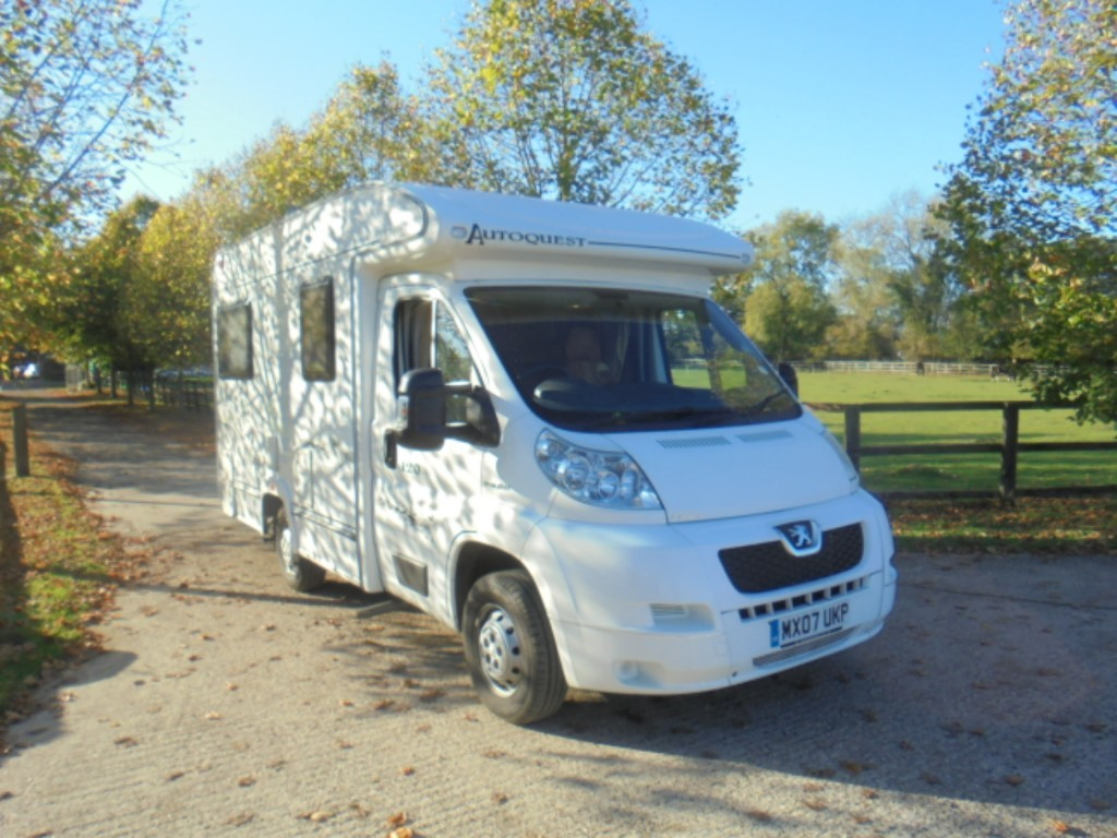 used Peugeot Boxer ELDDIS AUTOQUEST 120 in suffolk