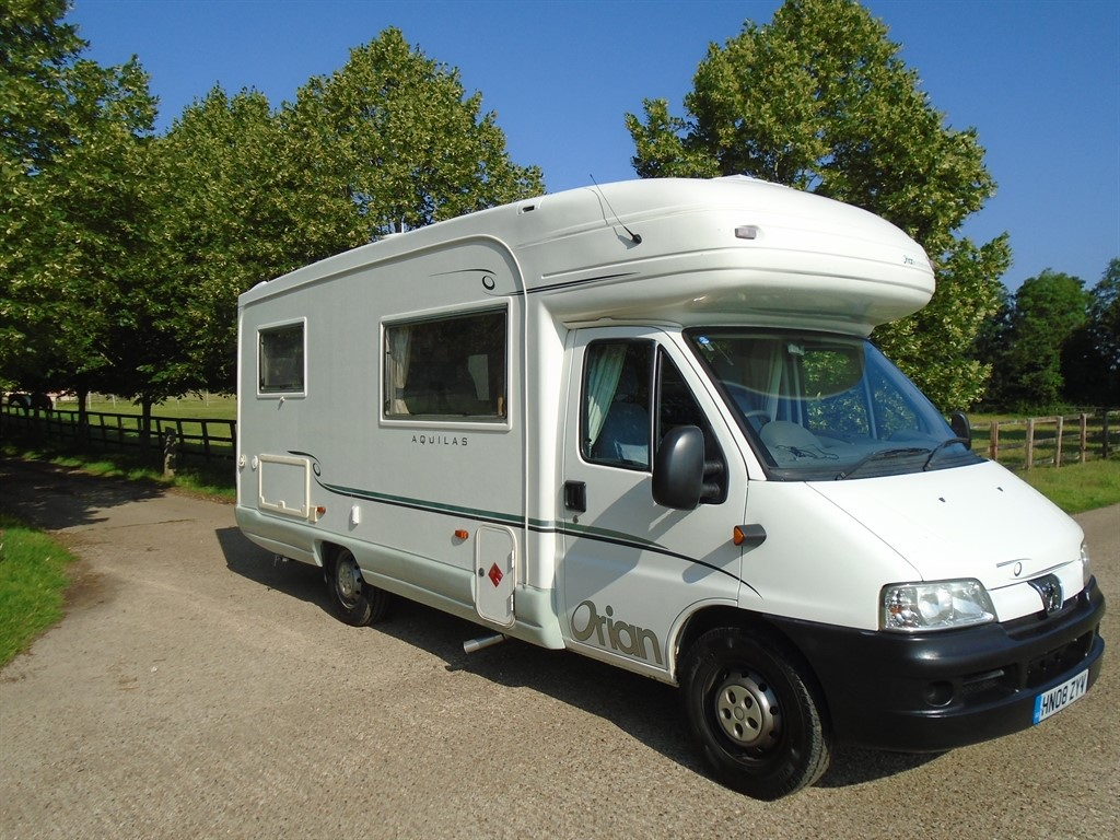 used Peugeot Boxer ORIAN FIREBRAND 590 in suffolk