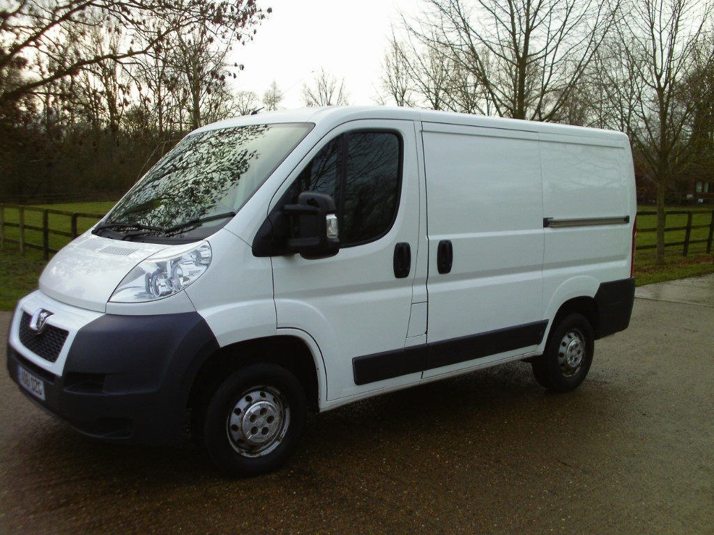 used Peugeot Boxer 330 L1H1 SWB in suffolk