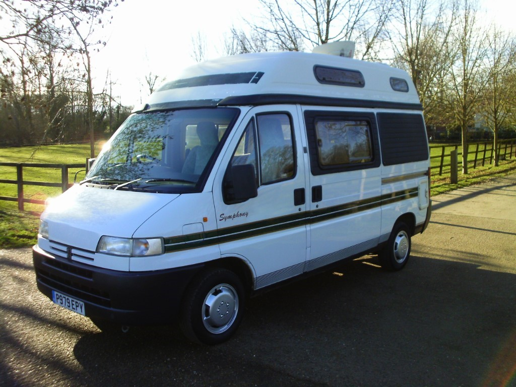 used Peugeot Boxer AUTOSLEEPER SYMPHONY in suffolk