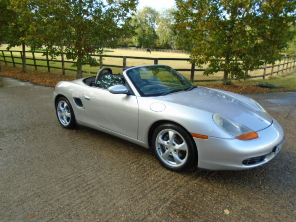 used Porsche Boxster 24V in suffolk