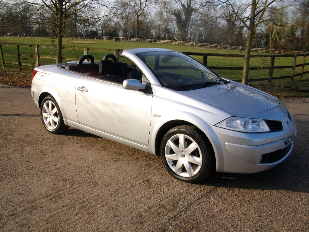 used Renault Megane CONVERTIBLE in suffolk