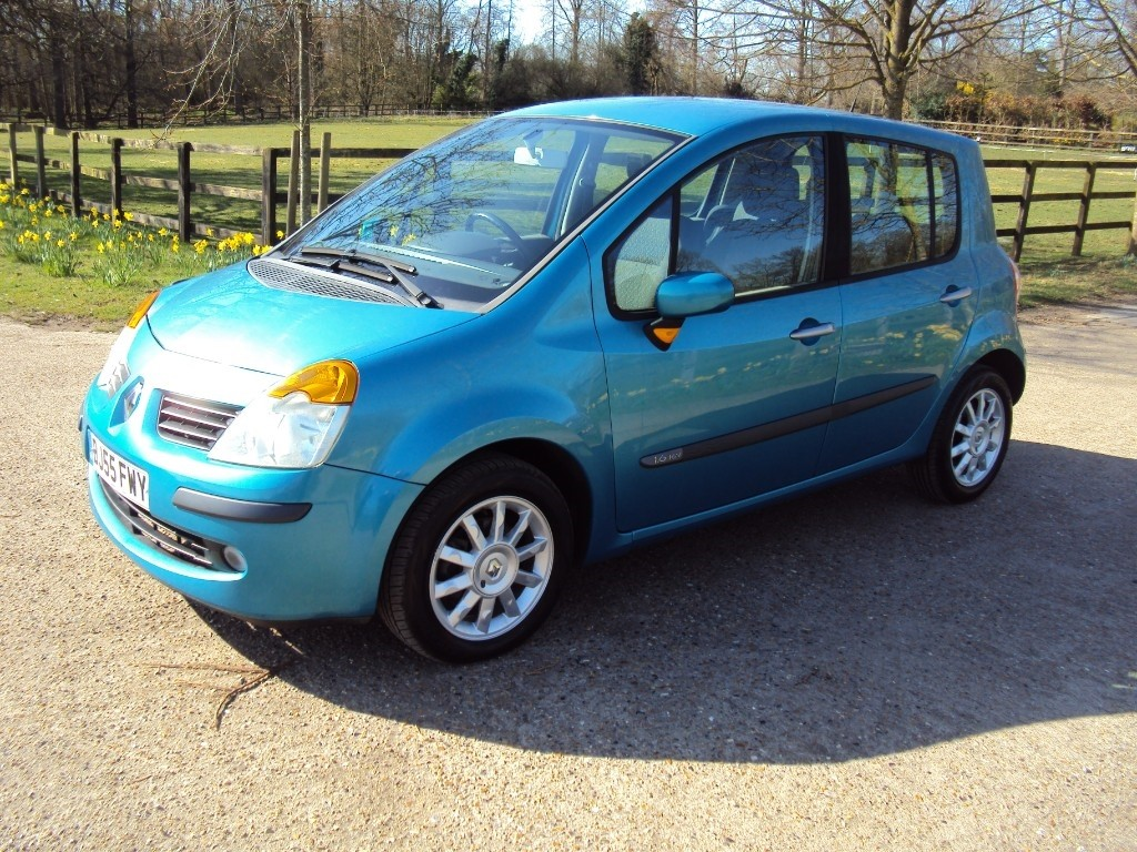 used Renault Modus DYNAMIQUE 16V in suffolk