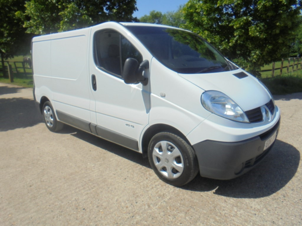 used Renault Trafic SL27 DCI S/R P/V in suffolk