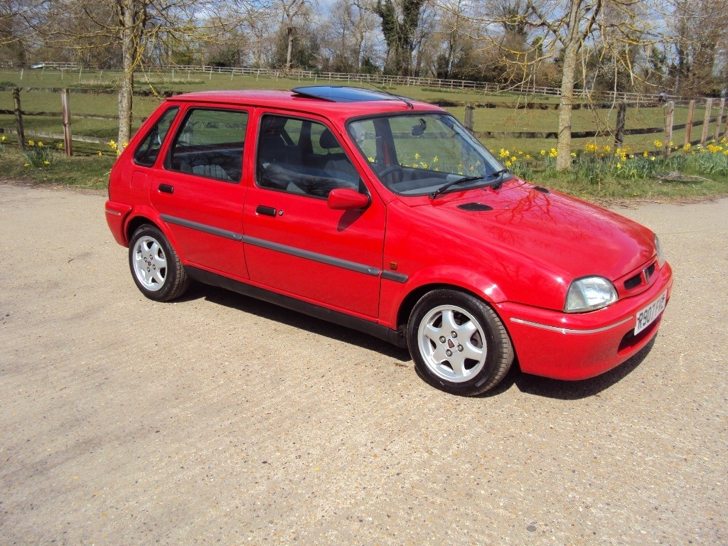 used Rover 114 GSi in suffolk