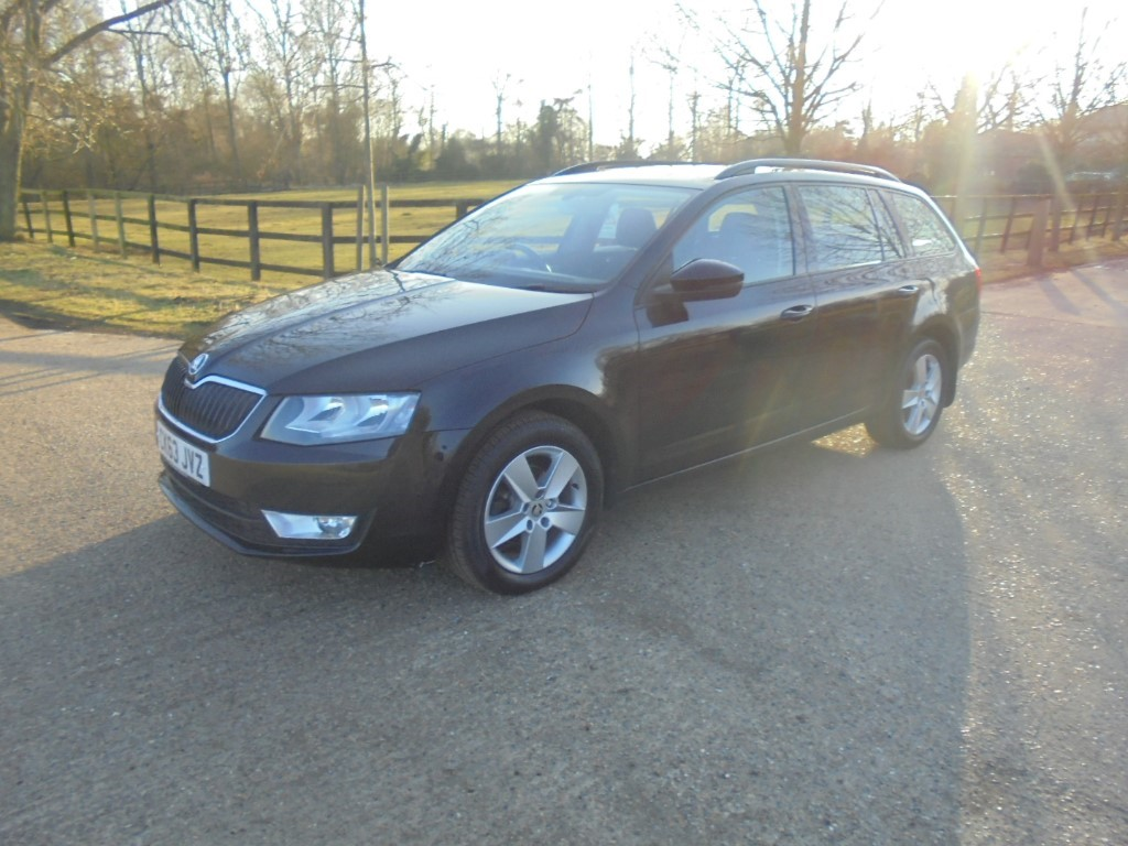 used Skoda Octavia SE TDI CR DSG in suffolk