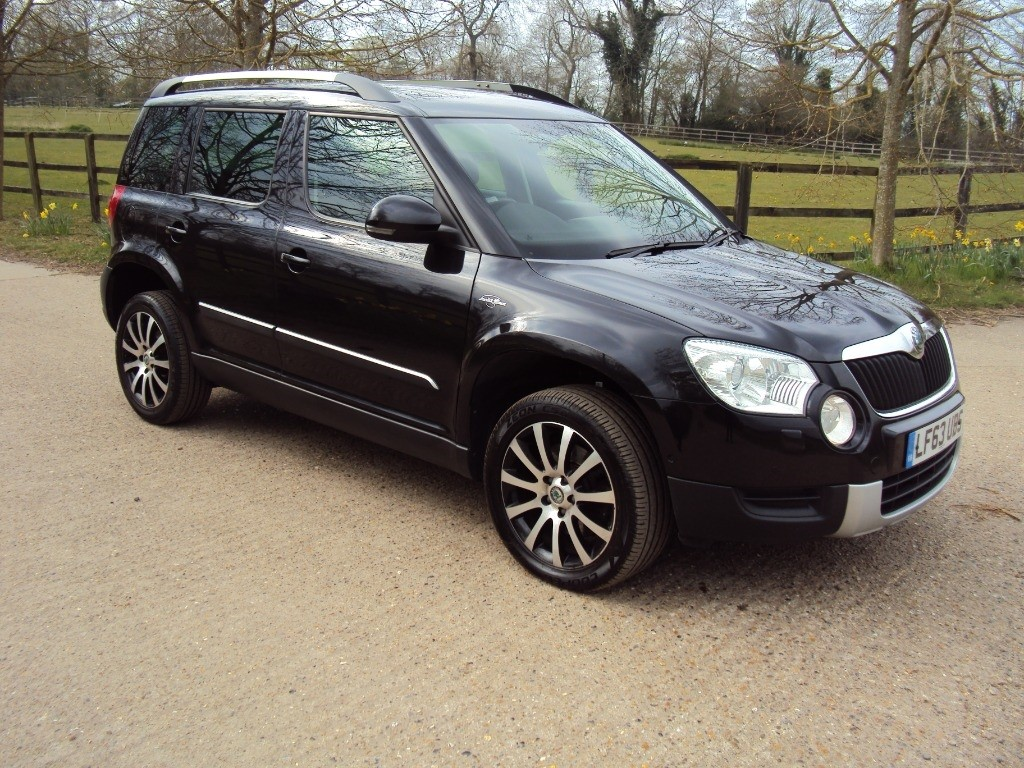 used Skoda Yeti LAURIN AND KLEMENT TDI CR in suffolk