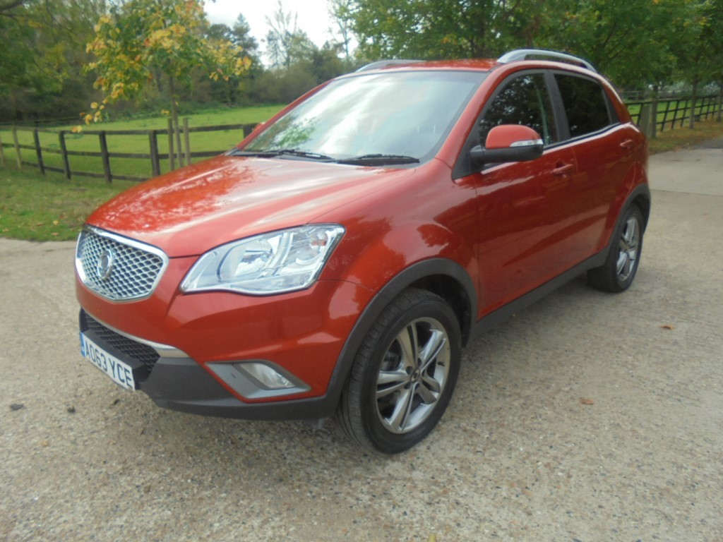 used Ssangyong Korando LIMITED EDITION in suffolk