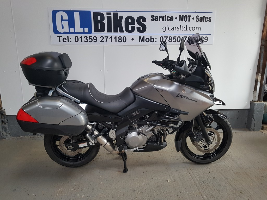 used Suzuki V-Strom 1000 GT in suffolk