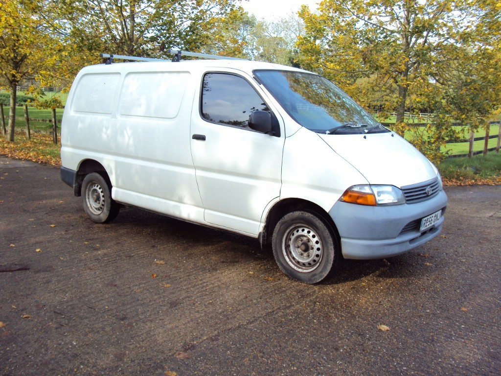 used Toyota Hiace 280 GS SWB P/V (88BHP) in suffolk