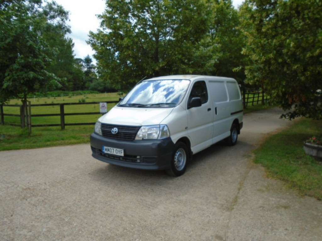 Used Toyota Hiace for Sale | Suffolk