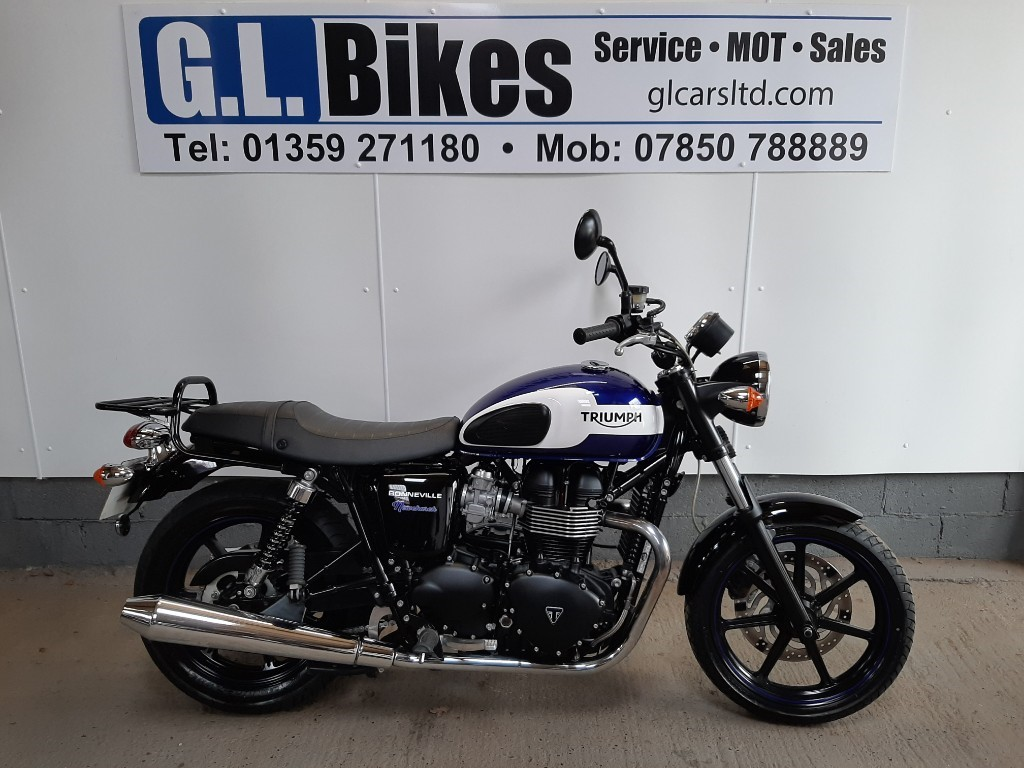 used Triumph Bonneville Newchurch  in suffolk