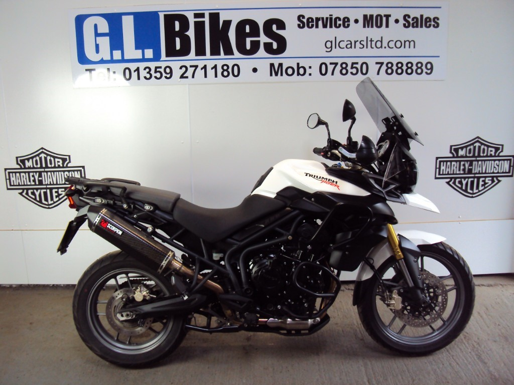 used Triumph Tiger 800 ABS road in suffolk