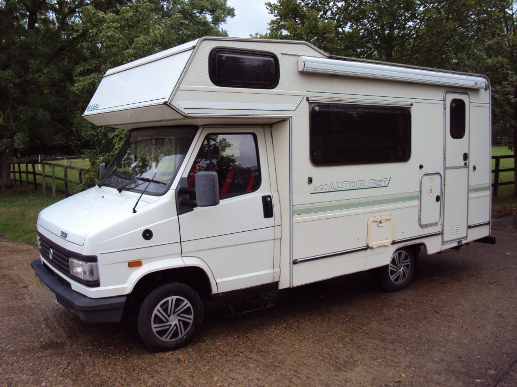 used Elddis Autoquest 320 in suffolk