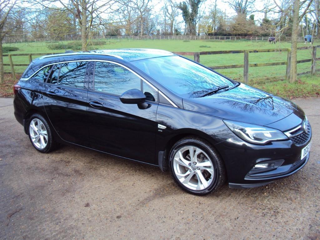 used Vauxhall Astra SRI CDTI in suffolk