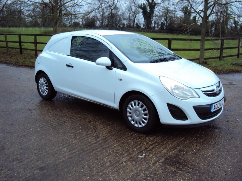 used Vauxhall Corsa CDTI ECOFLEX in suffolk