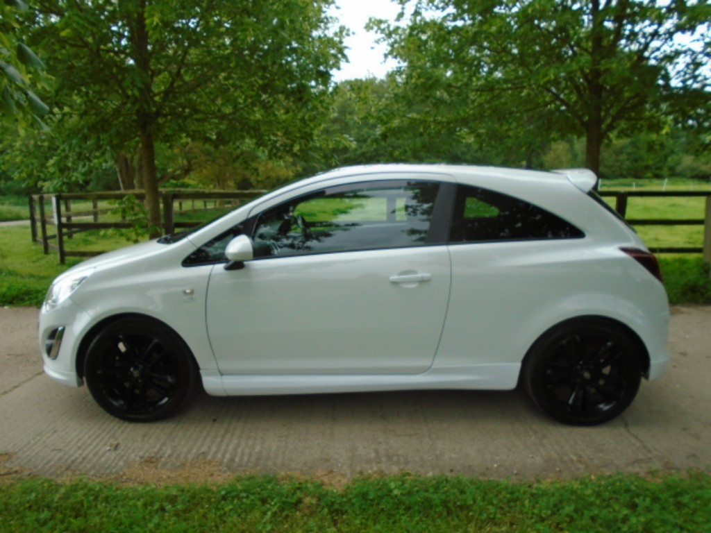 used Vauxhall Corsa LIMITED EDITION in suffolk