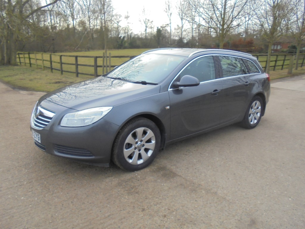 used Vauxhall Insignia EXCLUSIV CDTI in suffolk