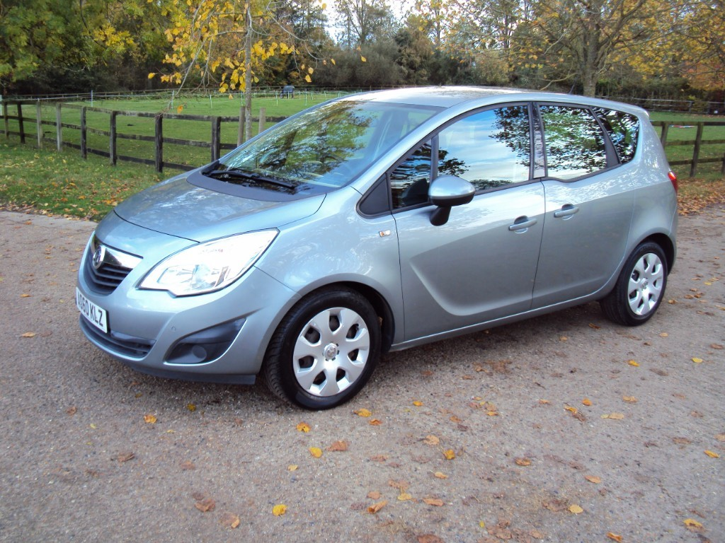 used Vauxhall Meriva EXCLUSIV CDTI in suffolk