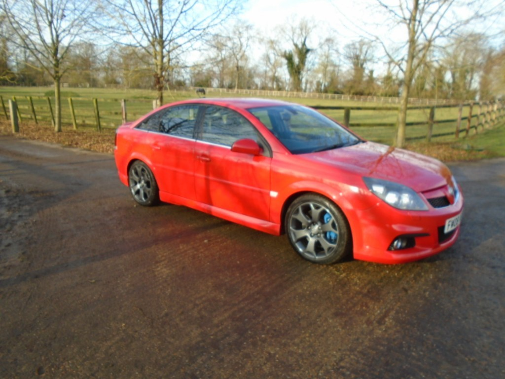 used Vauxhall Vectra VXR in suffolk