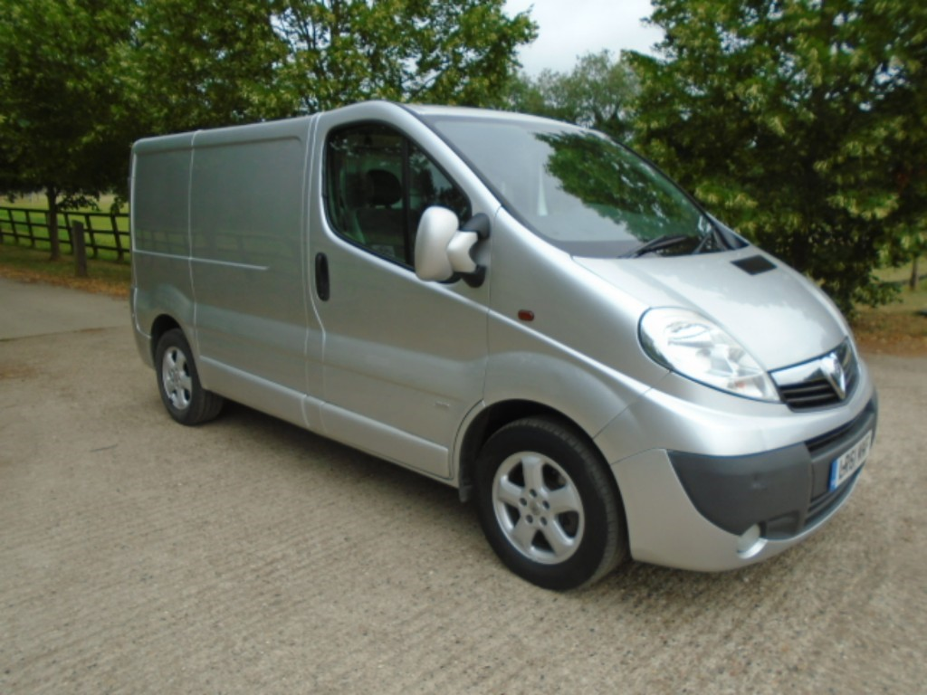 used Vauxhall Vivaro 2700 CDTI SPORTIVE P/V in suffolk