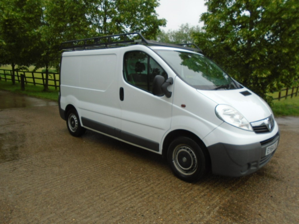 used Vauxhall Vivaro 2700 CDTI P/V in suffolk