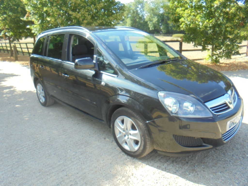 used Vauxhall Zafira EXCLUSIV CDTI ECOFLEX in suffolk