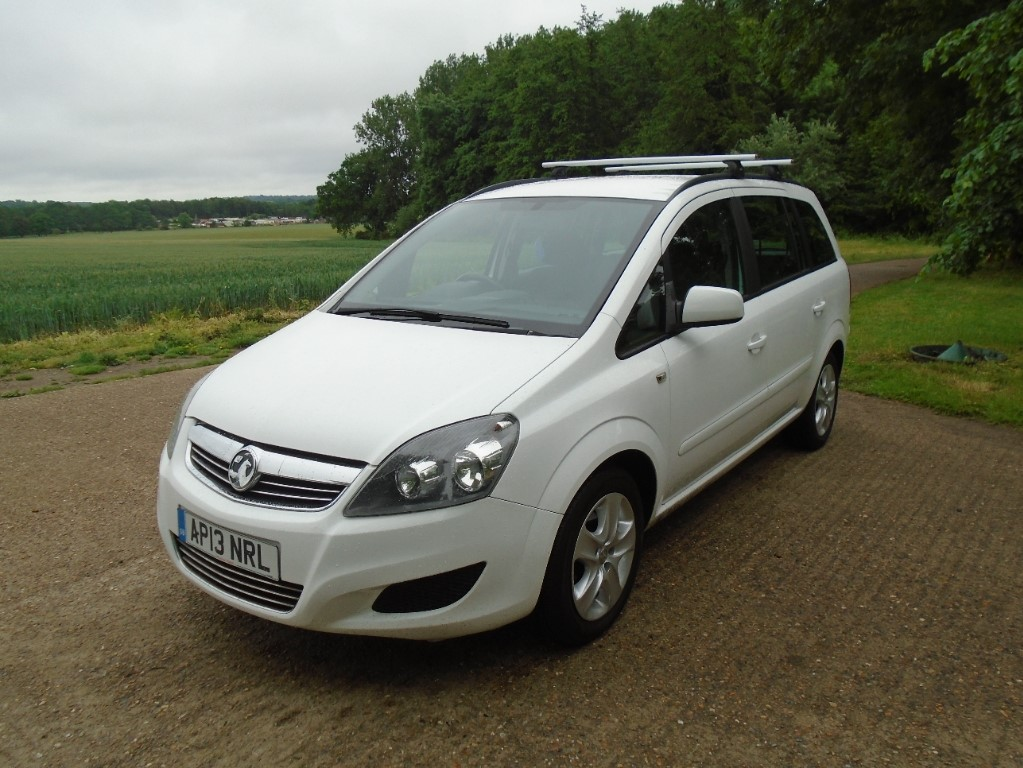 used Vauxhall Zafira EXCLUSIV in suffolk