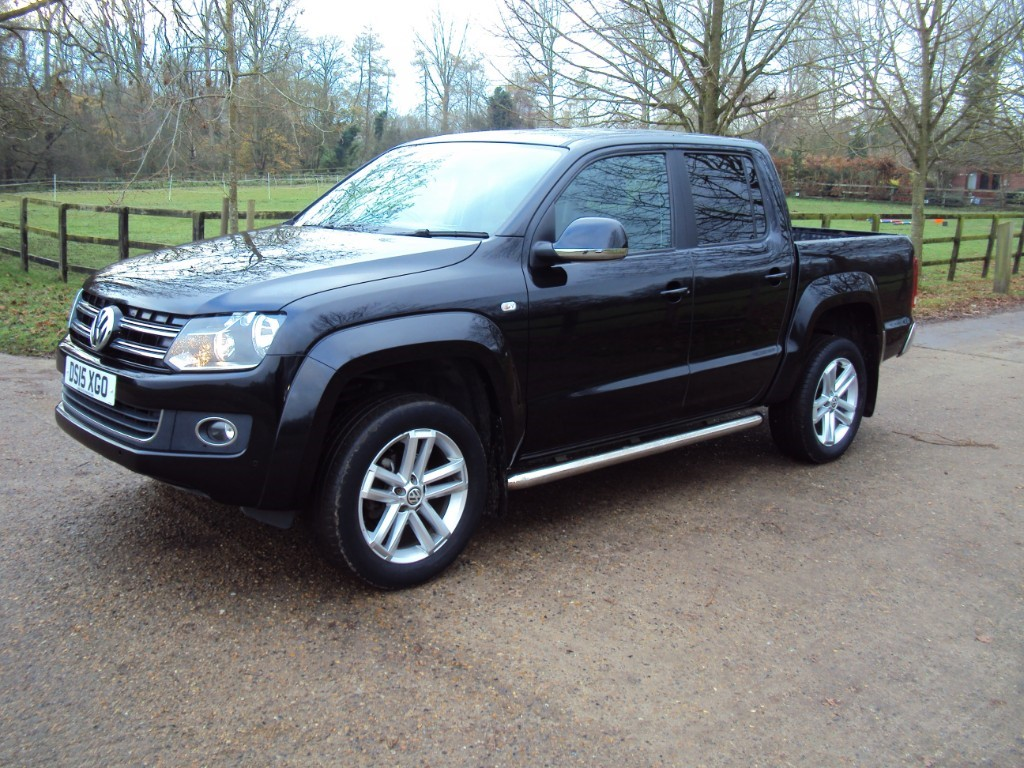 used VW Amarok DC TDI HIGHLINE 4MOTION in suffolk