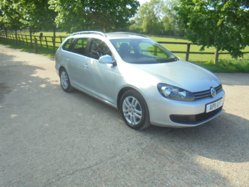 used VW Golf SE TDI DSG in suffolk