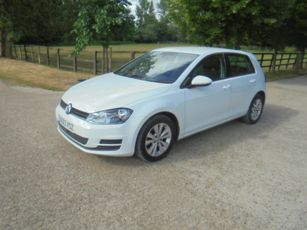 used VW Golf SE TDI BLUEMOTION TECHNOLOGY in suffolk