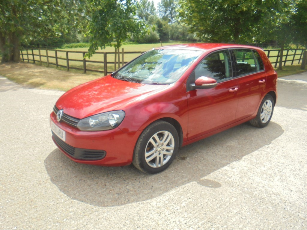 used VW Golf SE TDI in suffolk