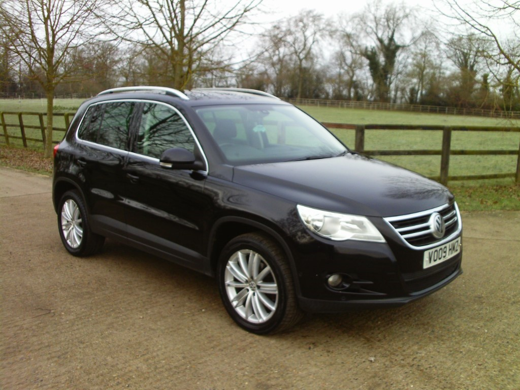 used VW Tiguan SPORT TDI in suffolk