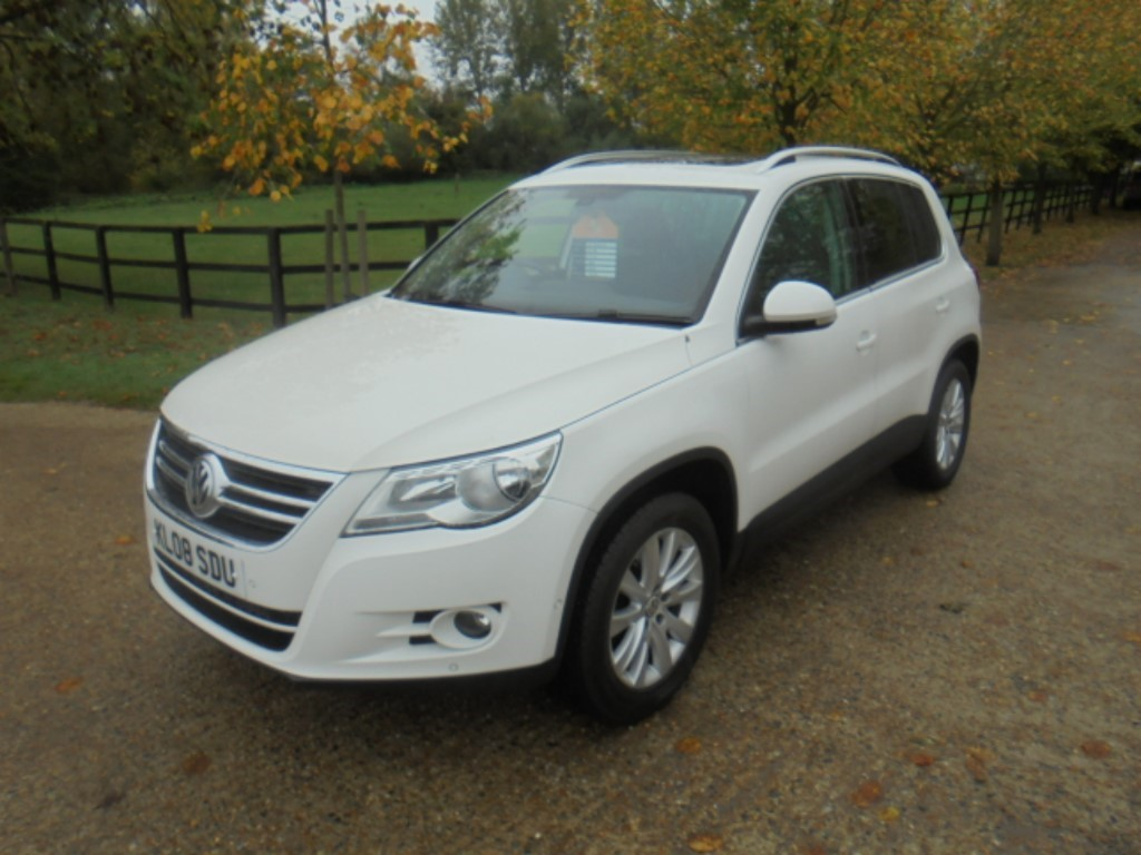 used VW Tiguan SE TDI in suffolk