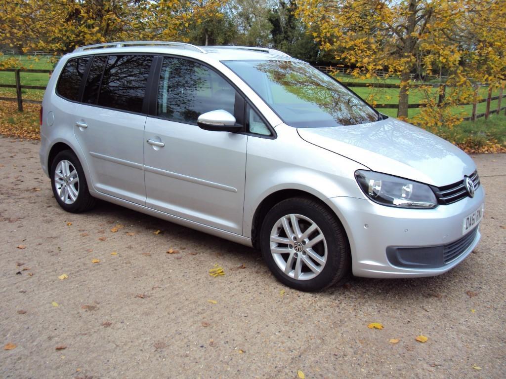used VW Touran SE TDI 7 SEAT in suffolk